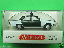 1:87 Wiking 086432 Polizei Audi 100 Blitzversand per DHL-Paket