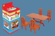DOLLS HOUSE  DINING TABLE & CHAIRS FURNITURE SET QTY 96 JOB LOT