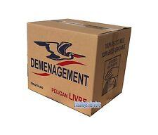 10 BOITES CARTONS EMBALLAGE DEMENAGEMENT 350x 275 x 300 LIVRAISON GRATUITE RELAY