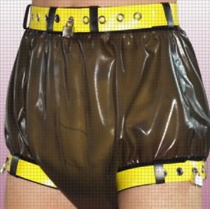 NEU-Latex-Rubber-Gummi-Ganzanzug-Modeshorts-Zentai Kostüm-customize 0.4mm