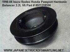 Isuzu Rodeo Trooper Honda Passport Harmonic Balancer 3.2L V6 Crankshaft Pulley ,