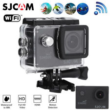 1080P Wifi 12MP Waterproof SJ4000 Sports Action Camera Helmet DV Cam +2Batteries