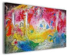 Quadri famosi moderni Marc Chagall vol XVI stampa su tela canvas arredo poster