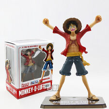 One Piece Anime New World Monkey D Luffy Figuarts Zero 5.9in Figure New With Box