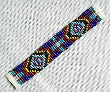Perlenband blau mini Perlen 937 Indianer Dekoband Schneider Dekorieren Nähen