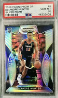 2019-20 Panini DeANDRE HUNTER Silver Prizm Rookie Card RC PSA 10 GEM MINT Hawks