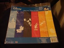 "Disney Tonal Paper Pack 12""X 12"" 12 Sheets- Sandylion Brand New- Mickey and More"