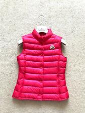 Auténtico Chaleco Chaleco Moncler Liane abajo chaqueta de abrigo de Niños Niñas Niños Talla 12 años
