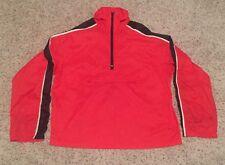 VTG 70s/80s Original NIKE Racing Windbreaker/Jacket Orange Tag Red/Black SZ Med