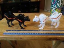 FP Power Rangers Jungle Fury Beast Master Black Leopard + White Puma Zord Lot