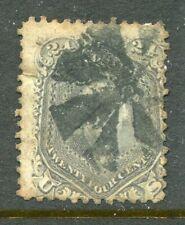 U.S.A....  1861  24c washington   used