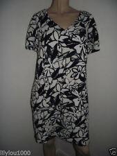 George V-Neck Casual Floral Dresses for Women