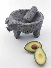 "Molcajete/Tejolote Authentic Mexican Mortar &Pestle Guacamole Salsa Maker 7"" Pig"