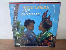 """LP 12"""" FETE CREOLE AUX ANTILLES - VG+/EX - ARION - 30 T 087 - FRANCE"""
