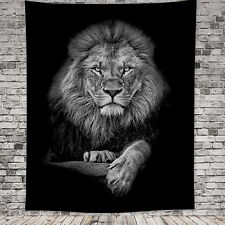 Lion Animal Large Tapestry Wall Hanging Blanket Throw Cover Bedspread Home Decor