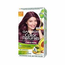 Garnier Natural Crème Hair Color Shade 4.20 Wine Burgundy,70ml+60g+Free Shipping