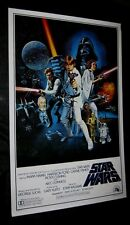 "Original 27"" X 41"" 1 sheet ROLLED 1977 STAR WARS Style C Scratched Plate Version"
