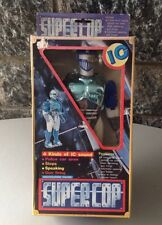 Vintage 80s NIB Made in Taiwan Battery operated ROBOT SUPERCOP ROBOCOP clone