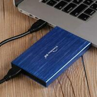 "Blueendless HDD 2.5""Portable External Ultra Slim Hard Drive PC Laptop 500gb/1tb"
