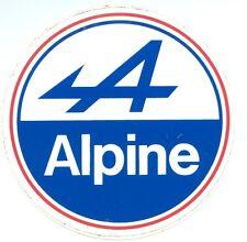 Pegatina autoadhesiva ALPINE 8 cms ( Renault A310 A110 berlinetta R5 R8 vhc
