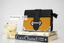 Box Trunk Bag in Mustard Yellow With Gold Chain - Penelope Rose Boutique