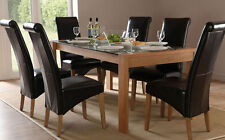 Glass Unbranded Kitchen & Dining Tables