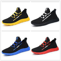Men's Fashion Sports Shoes Breathable Canvas Running Jogging Athletic Sneakers