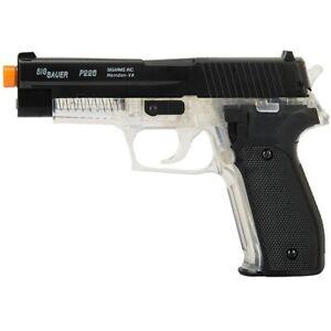 300 FPS SIG SAUER P226 LICENSED CLEAR SPRING AIRSOFT PISTOL HAND GUN 6mm BB BBs