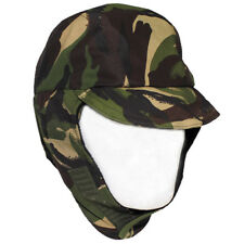 Unused British Army DPM Camo Waterproof Gore Tex Hat Lined Cold Weather Cap