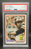 1978 Topps Eddie Murray Rookie Cup Card RC PSA 4 VG-EX Baltimore Orioles AllStar