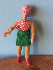 Frau Erna Meyer Biegepuppe Püppchen Puppenstube Puppenhaus 1:18 dollhouse doll