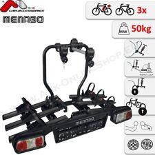 Menabo Alphard Black Plus Portabicicletas Für 3 Elektroräder/Ebikes