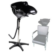 Black Shampoo Plastic ABS Bowl Sink Beauty Salon Barber Shop Wash Hair Equipment