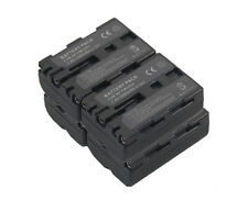 new 4pcs NP-FM500H Battery + Dual Charger for SLT-A57 A57M A77V A65 A99 NPFM500H