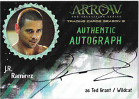 Arrow Season 3 Auto Autograph Card J.R. JR Ramirez Wildcat JRR