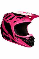 2018 Fox Racing V1 Race Helmet Pink Size Small