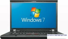 Lenovo ThinkPad t530 Intel i5. - 2,6ghz/3, 2ghz 8gb-ram 320-hdd Windows 7 usb3.0 HD +