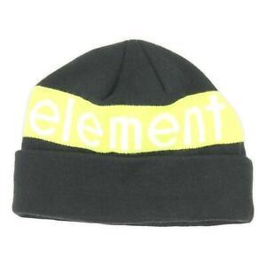 Element Mens FTN Polar Beanie Flint Black One Size New