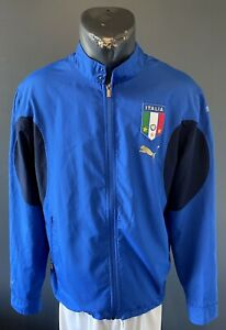 Italy Jacket Football National World Cup 2006 Full Zip Track Windbreacker Size S