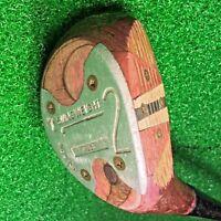 Vintage WILSON 2-Wood 4300 SWING WEIGHT Wood Head Golf Club Men's RH Reg.