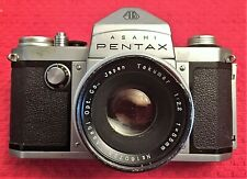 RARE PENTAX AP CAMERA (ORIGINAL PENTAX) w/f/2.2 55mm TAKUMAR -  EXC CONDITION