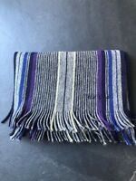 Paul Smith Reversible Multi Stripe Scarf  100% Wool