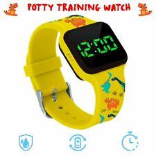 New ListingPotty Training Timer Watch Yellow Dinosaur with Flashing Lights and Music Tones