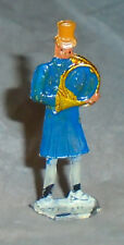 """Vintage Heinrichsen German Flat Lead """"Man Playing French Horn"""" EX Cond F/S Lot C"""