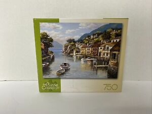 Village On The Water 750 Piece Puzzle 97111 The Puzzle Collection