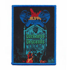 "Dark Angel ""Darkness Descends Patch slayer-vio-lence-morbid saint-exodus-coroner"