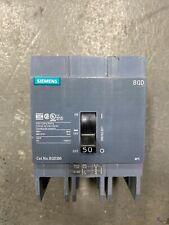 Siemens Bqd350 3 Pole 50 Amp 480V Circuit Breaker