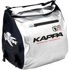 Kappa Tunneltasche Dry Pack 15L silber schwarz Scooter Roller Durchgang Ablage