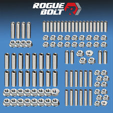 SBF SMALL BLOCK FORD ENGINE STUD KIT BOLTS STAINLESS PRE-86 260 289 302 351W 5.0
