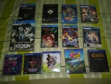PS Vita Lot Of 13 Deluxe Limited Editions Games NEW SEALED Sony Playstation